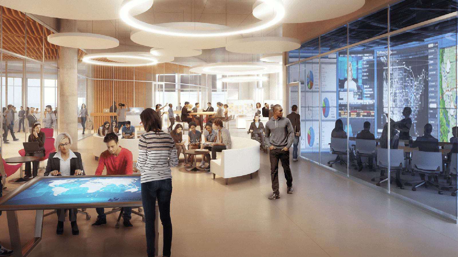 rendering of new Thunderbird school facility