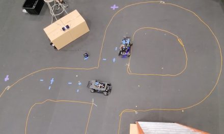 Connected autonomous vehicles make intersections safer
