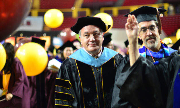 Emeritus faculty remains dedicated to student success through scholarship
