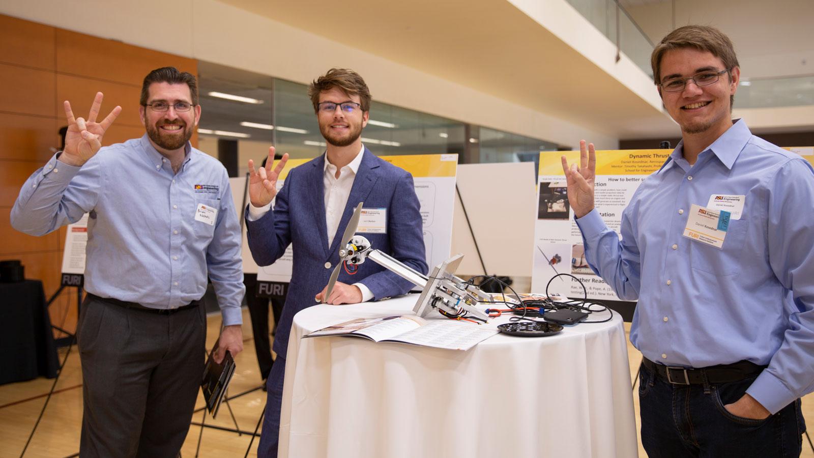 Daniel Kosednar presenting his Spring 2019 FURI