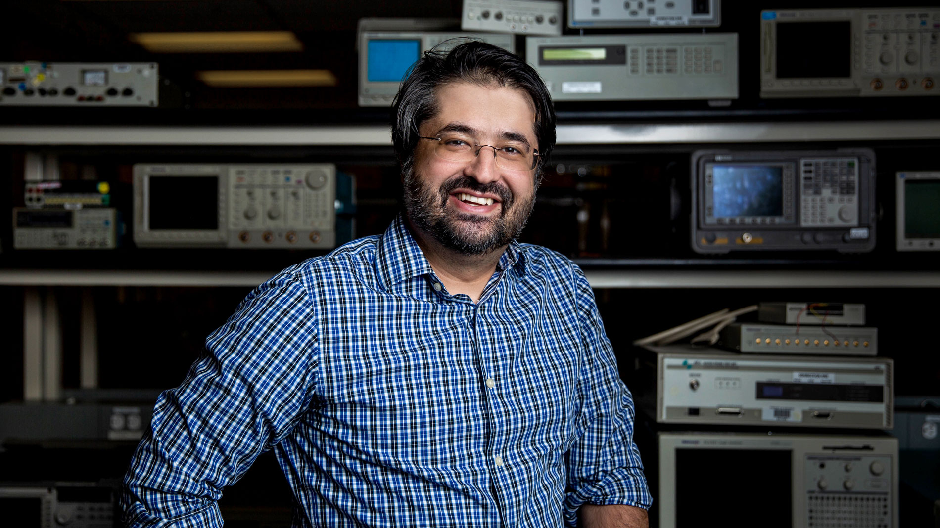A portrait of Mohammadreza Imani, an assistant professor of electrical engineering in the Ira A. Fulton Schools of Engineering at Arizona State University.