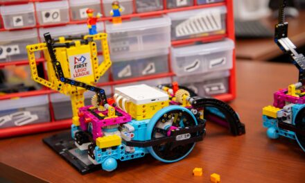 Building engineers one LEGO at a time